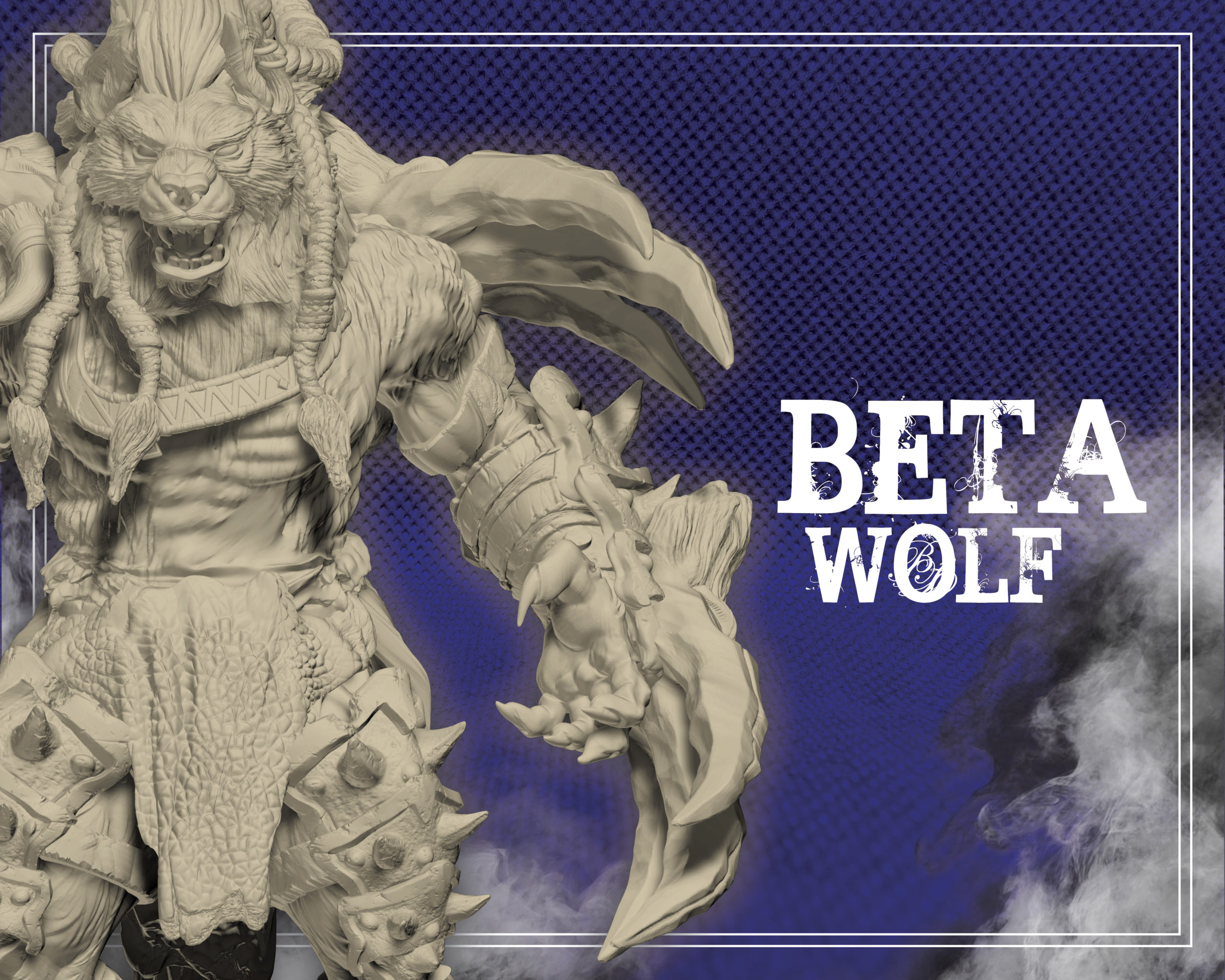 tier beta wolf wolfmaker3d gift subscribe patreon