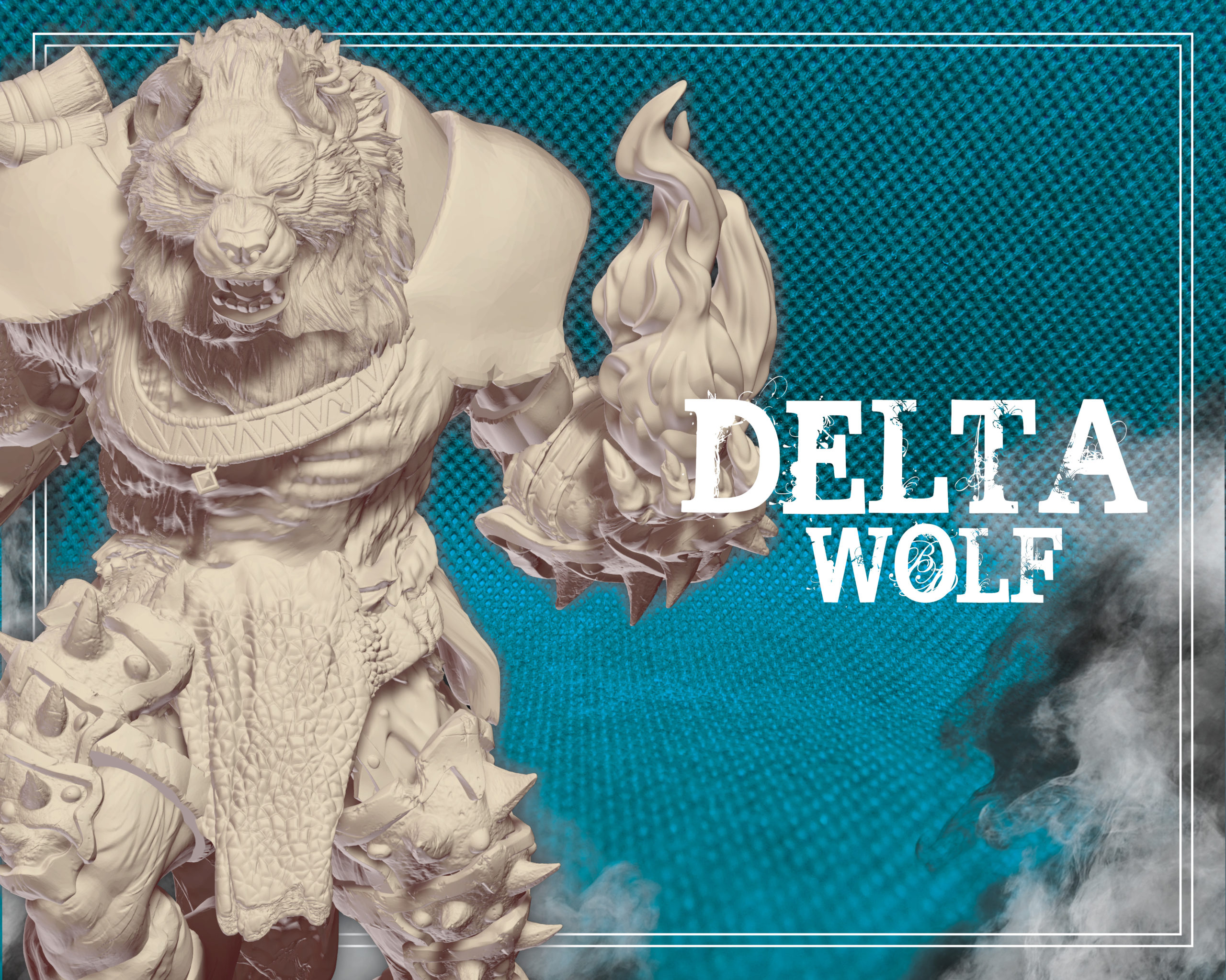 tier delta wolf wolfmaker3d gift subscribe patreon