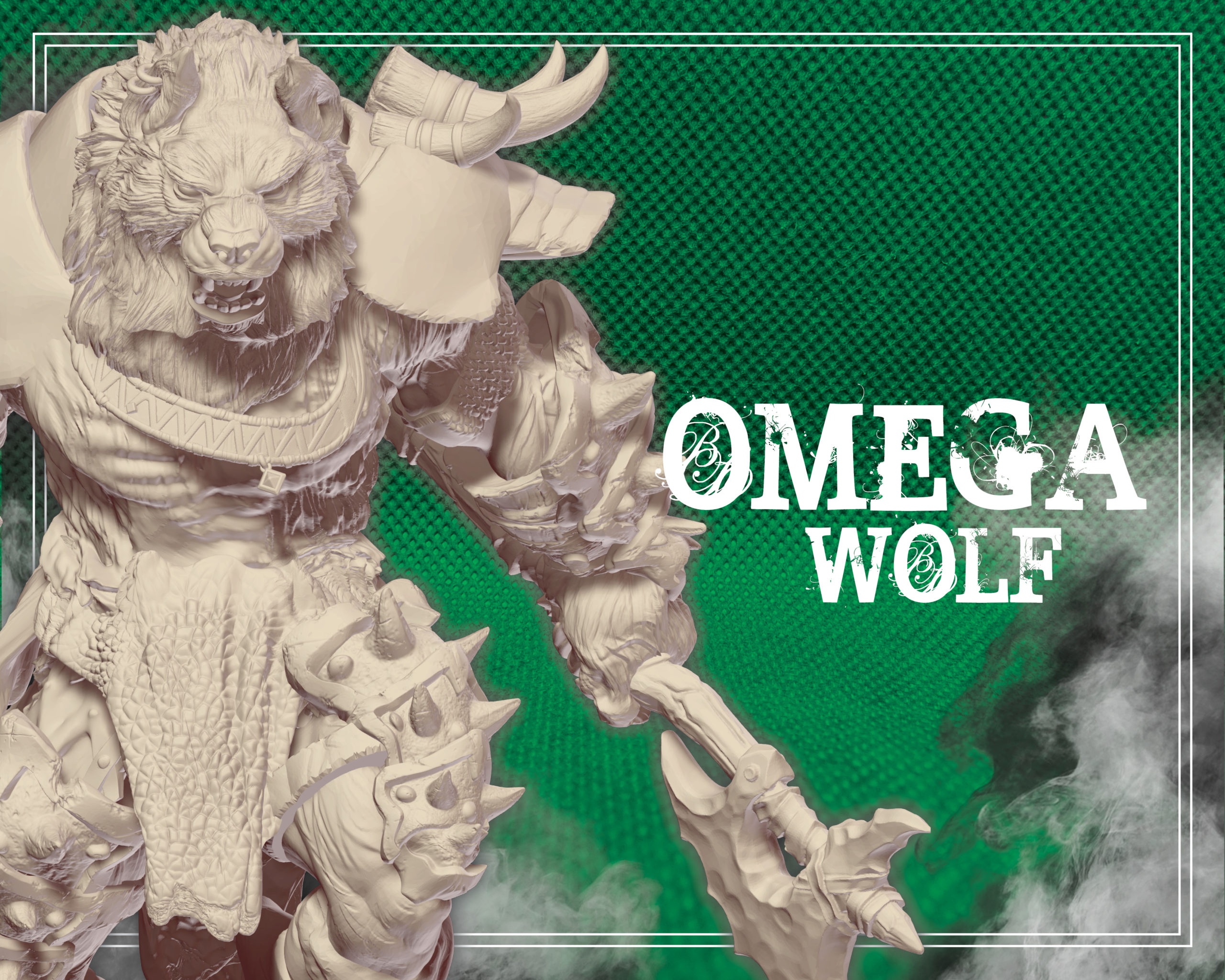 tier omega wolf wolfmaker3d gift subscribe patreon